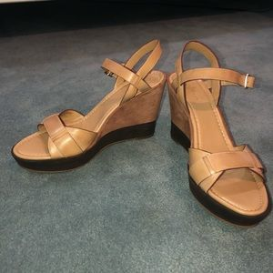 Cole Haan Shoes - Cole Haan Platform Wedge Sandals Air Paley Size 8